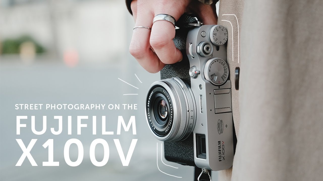 A Look at the Fujifilm X100V in Action for Street Photography (video)