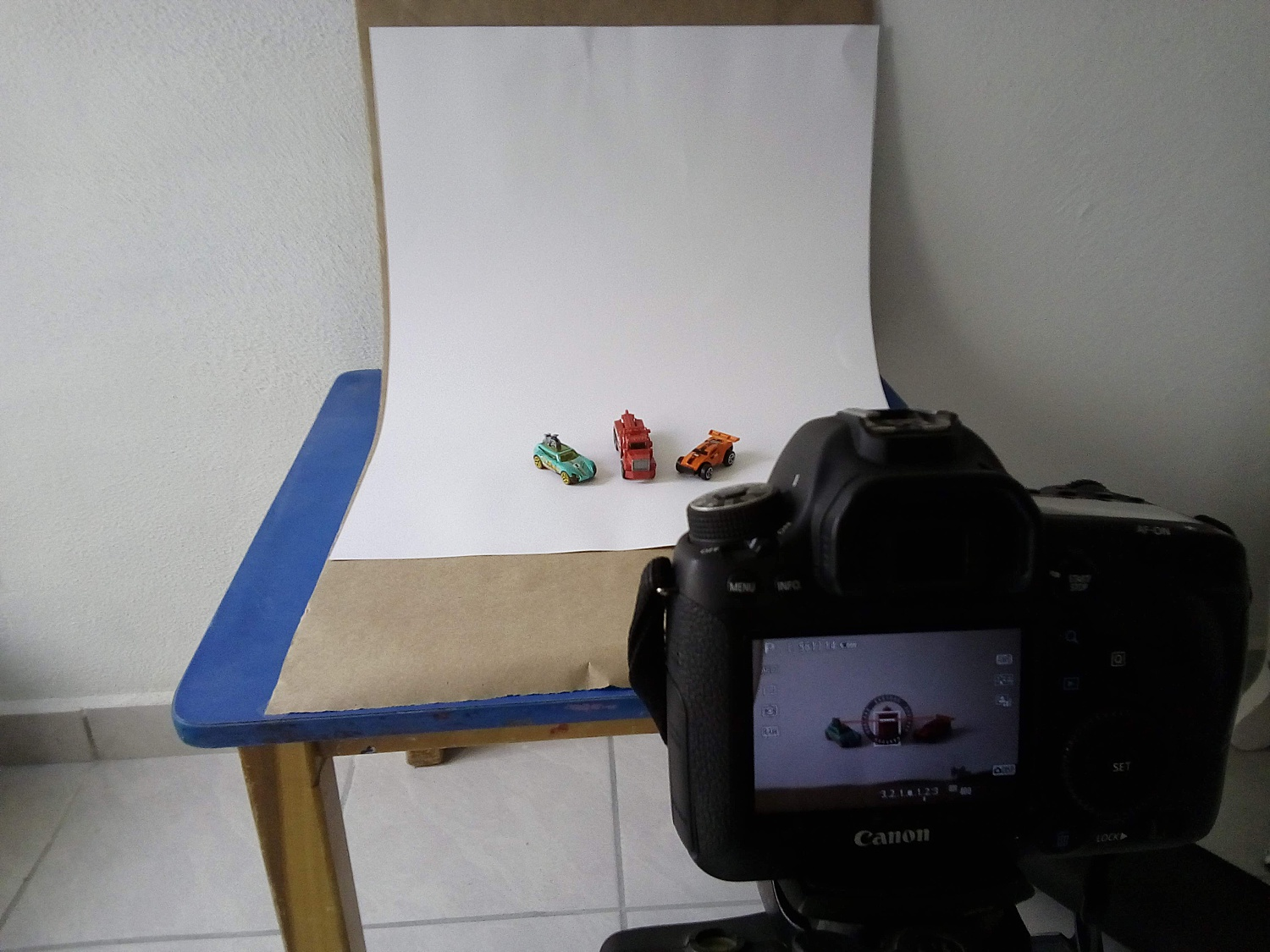 tabletop photography setups