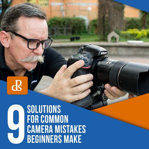 9 soluções para erros comuns de câmera iniciantes