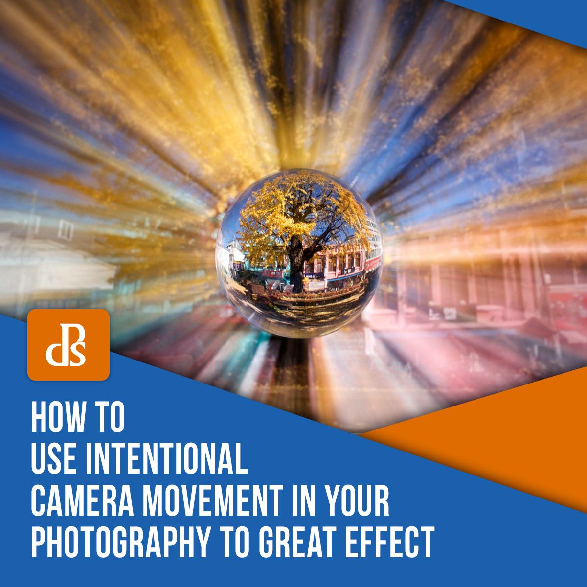 Como usar a trepidação intencional da câmera
