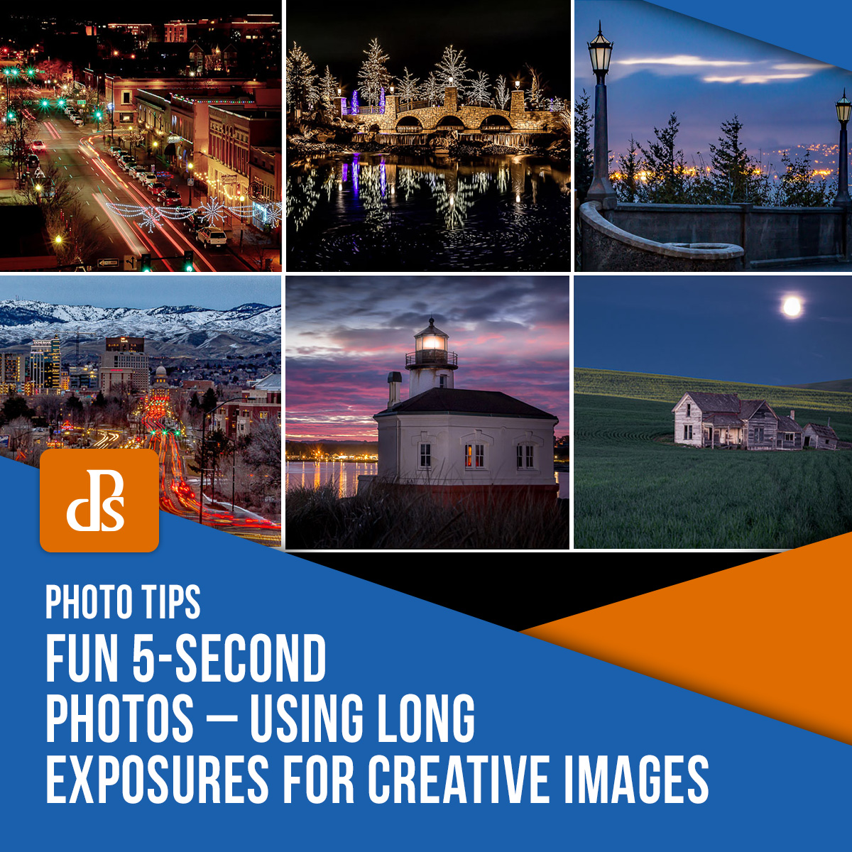 long exposures for creative images