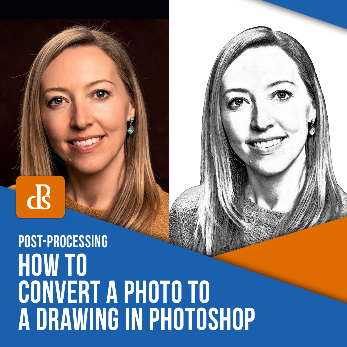 How To Convert A Photo To A Drawing In Photoshop