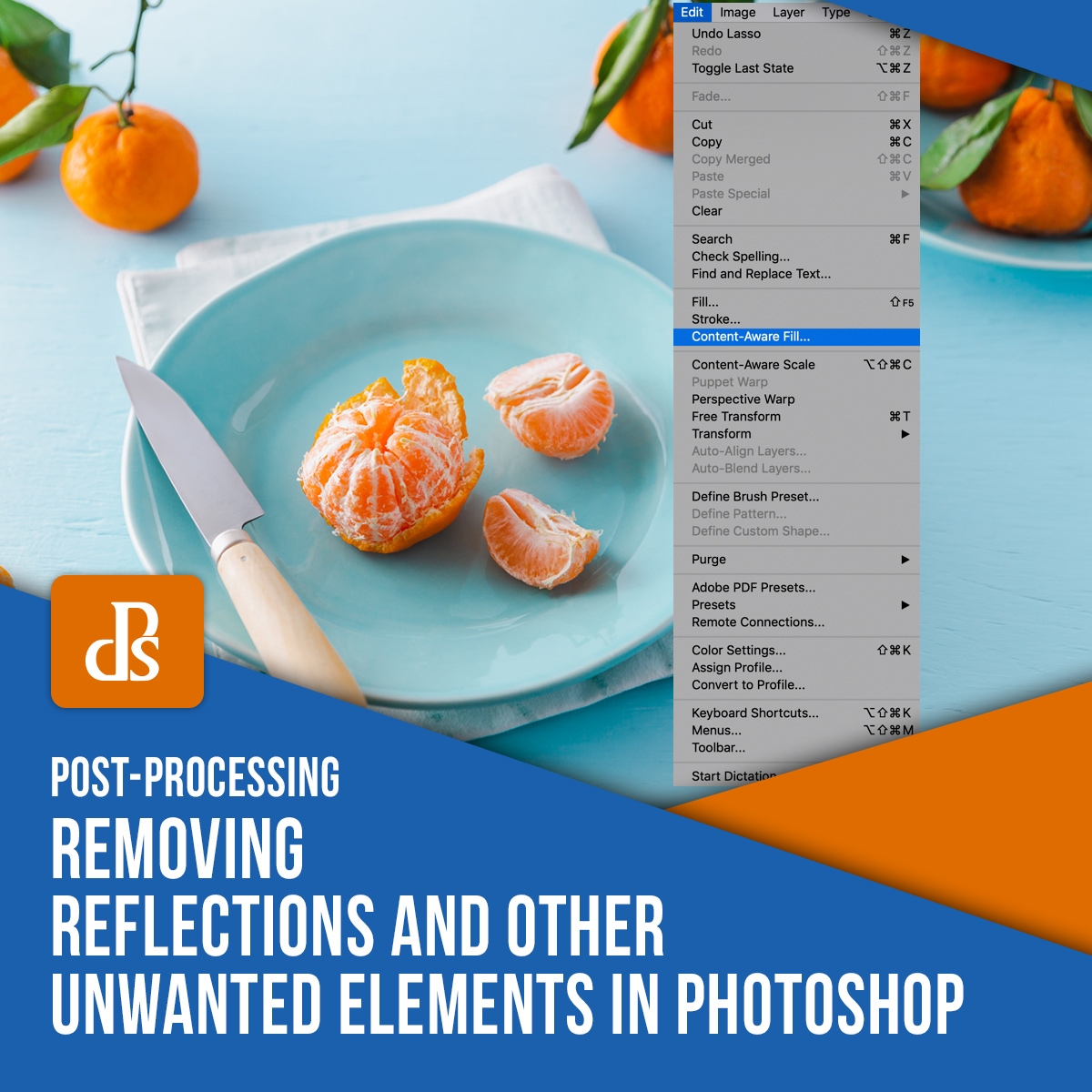 tips for removing reflections in Photoshop featured image