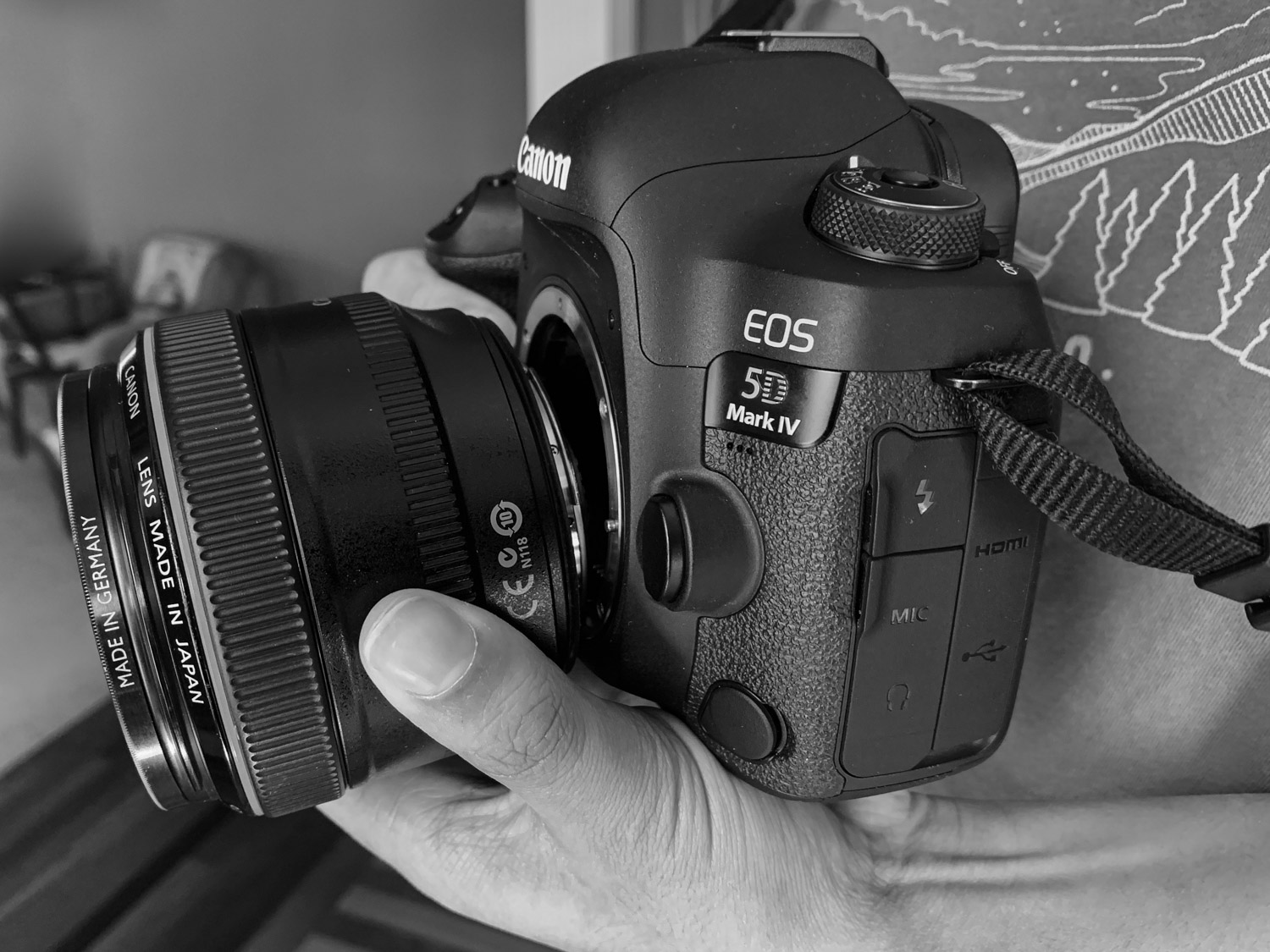 Freelensing for Creative Photography - how to hold the camera and lens