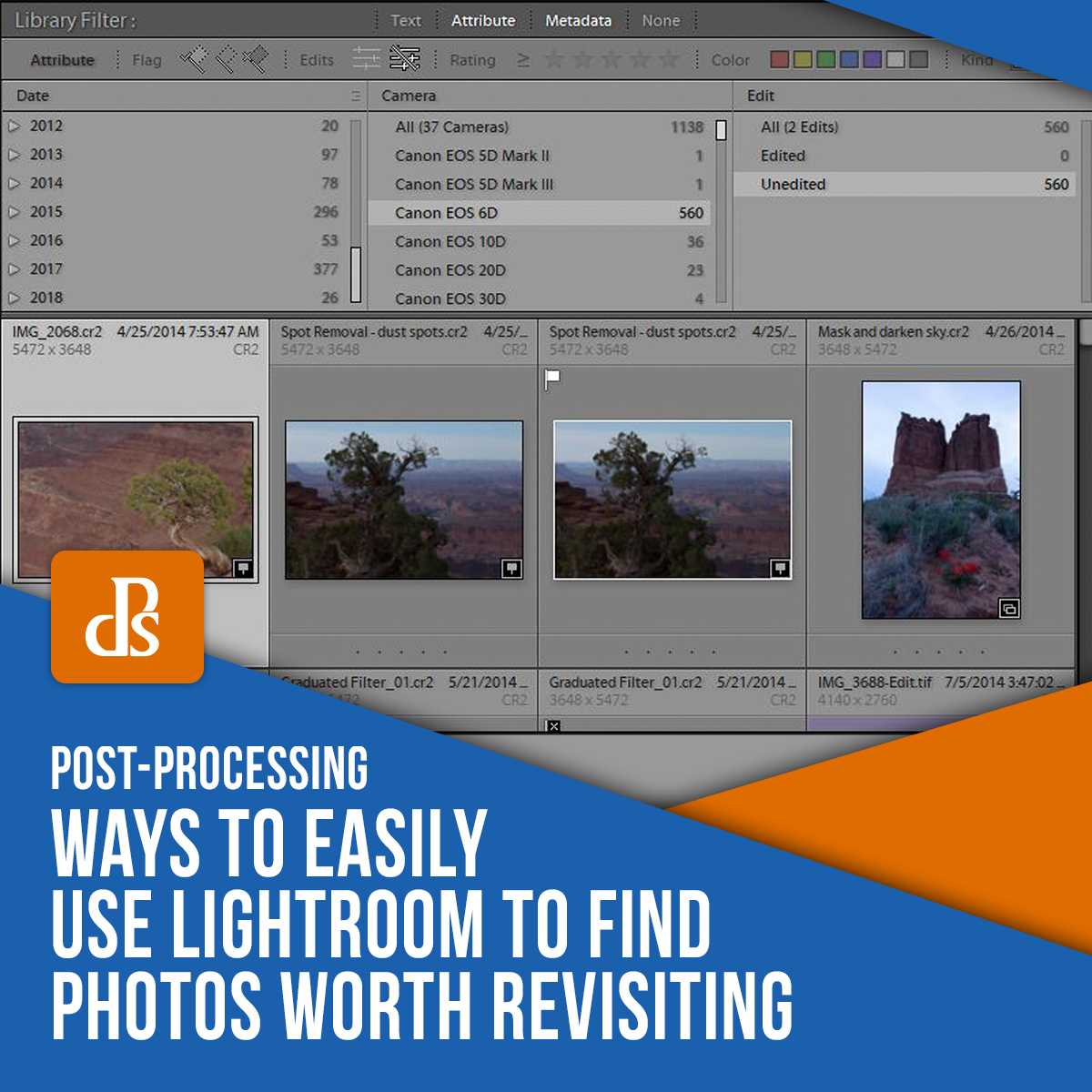ways to easily use lightroom yo find photos worth revisiting