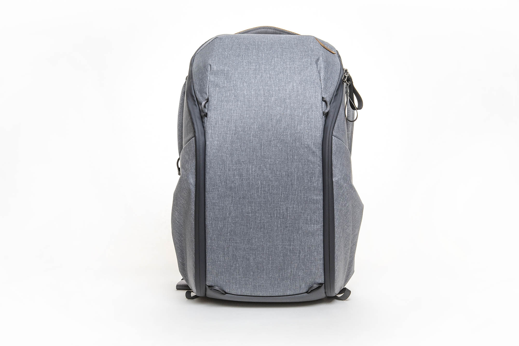 peak design everyday backpack zip review - front view of backpack
