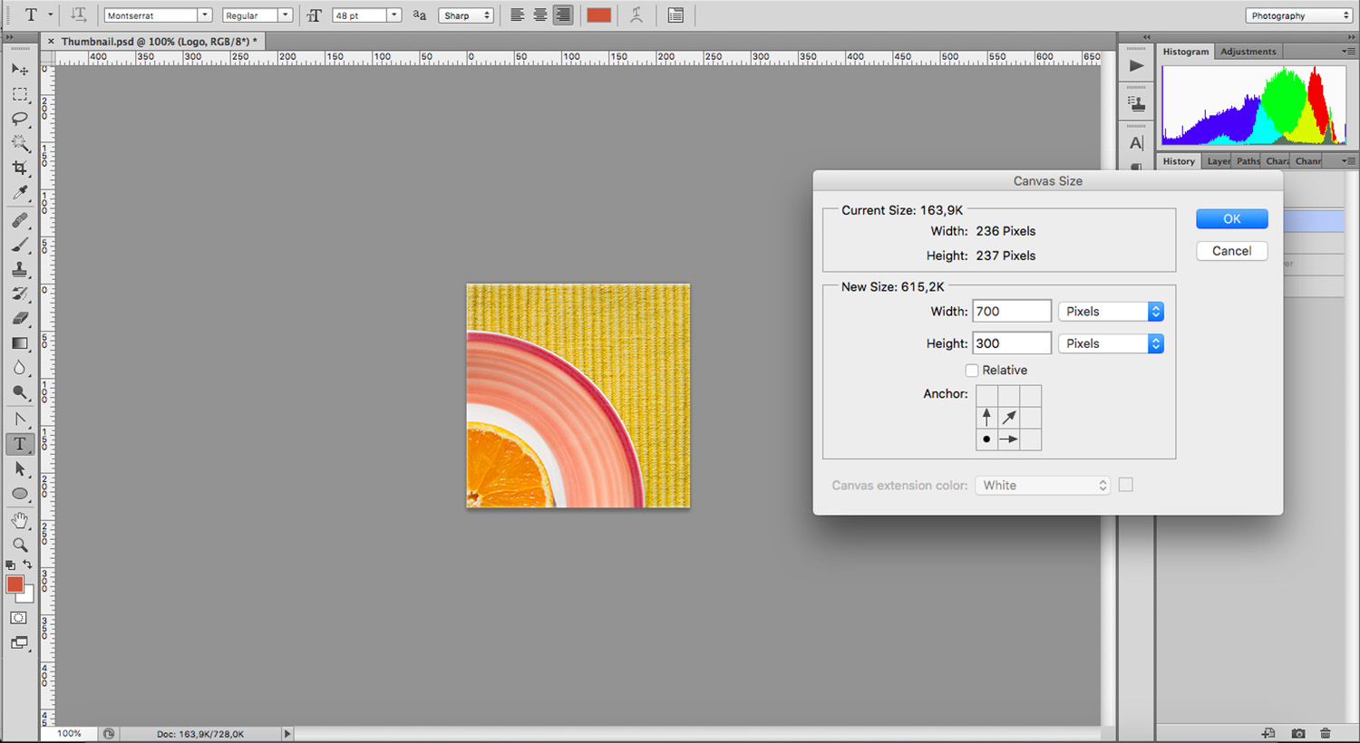 Photoshop tools to extend backgrounds
