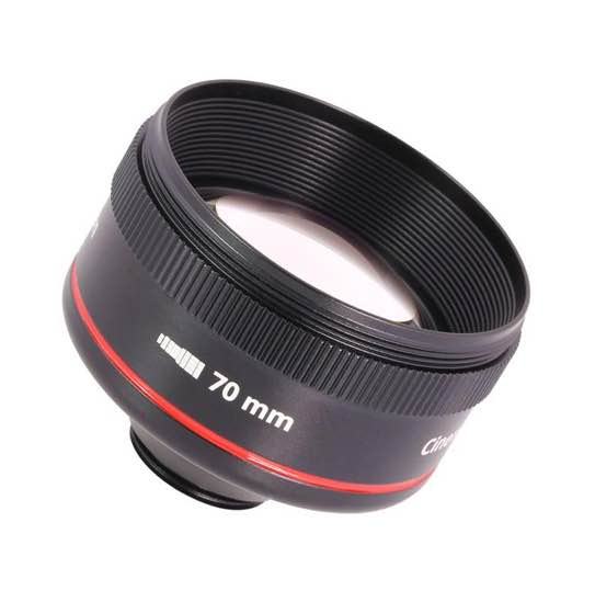 Struman Optics Cinematic lenses for smartphones review - 70mm lens