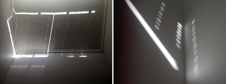 window light reflected on walls