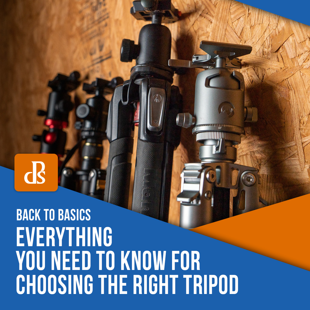 tips for choosing the right tripod