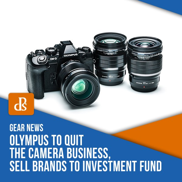 Olympus to Quit the Camera Business, Sell Brands to Investment Fund