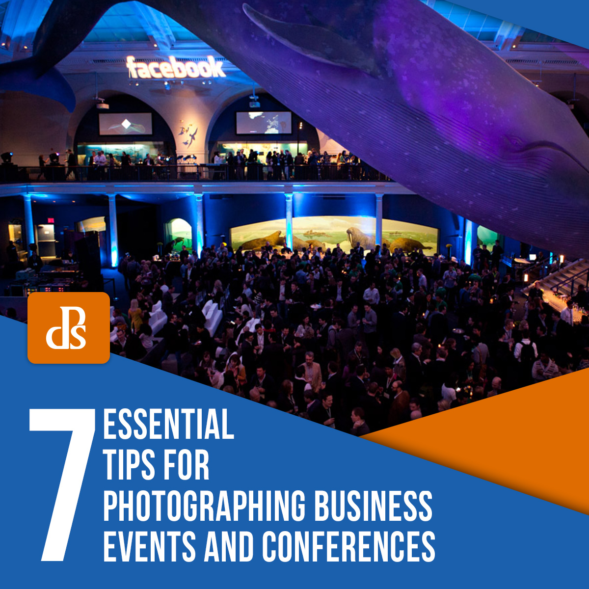 photographing business events and conferences tips