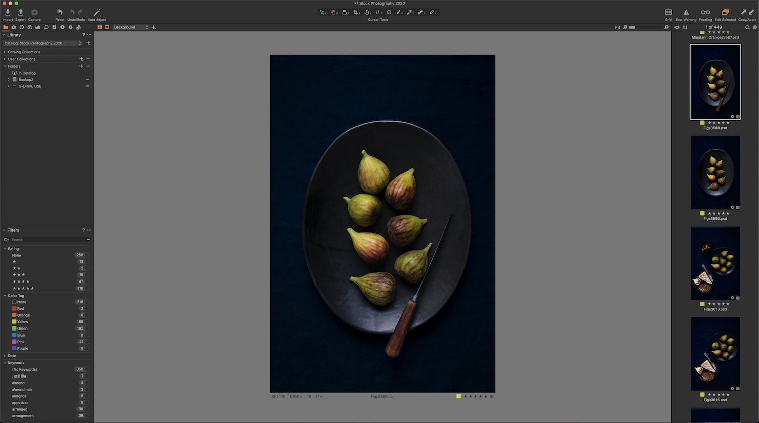 Organizing Photos in Capture One Pro