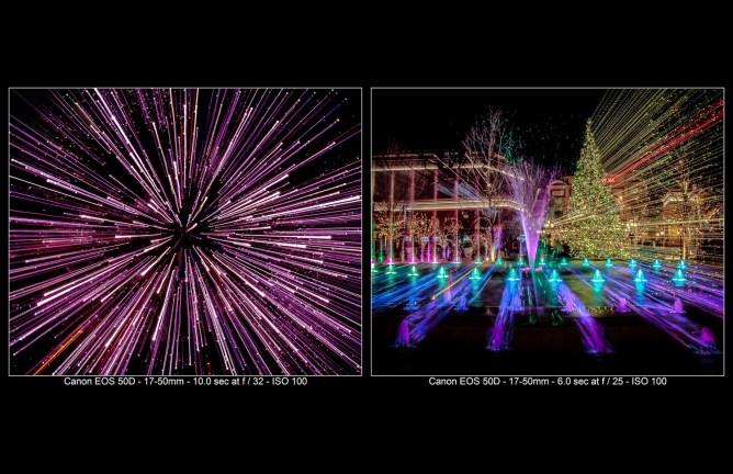 Truques de fotos: zoom durante a exposição