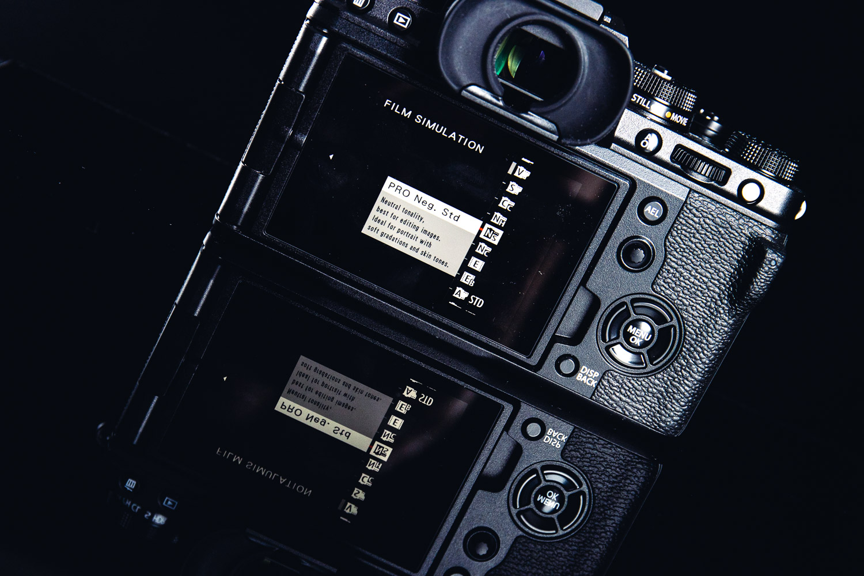 Fujifilm X-T4 film simulation modes