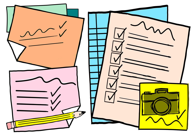 improve creativity list making drawing
