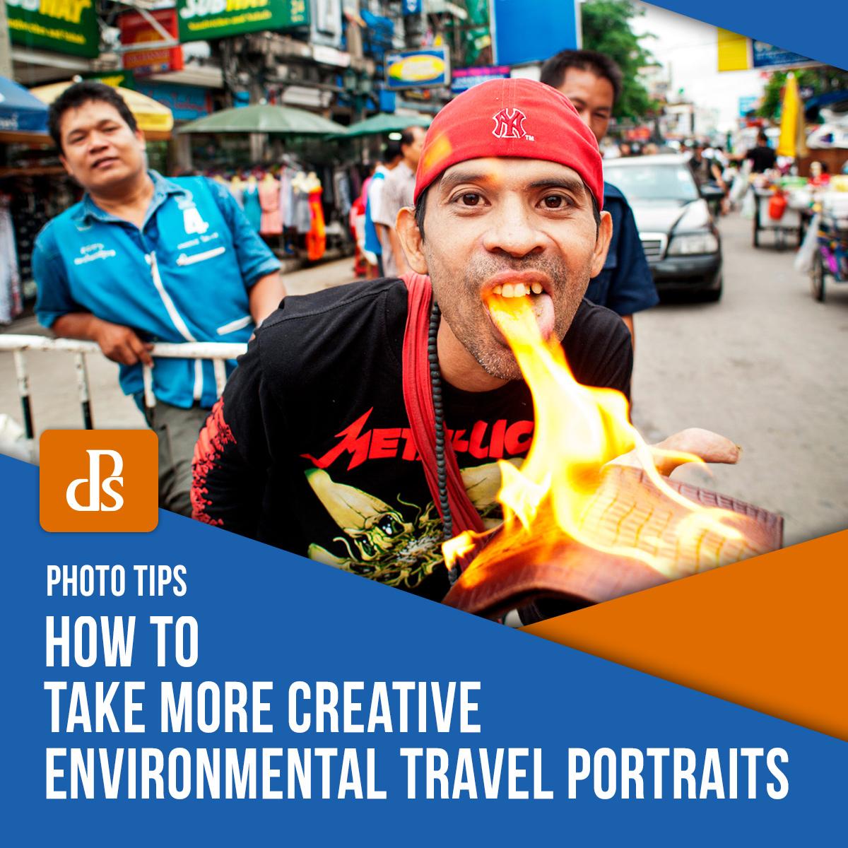 Retratos de viagens ambientais mais criativos.