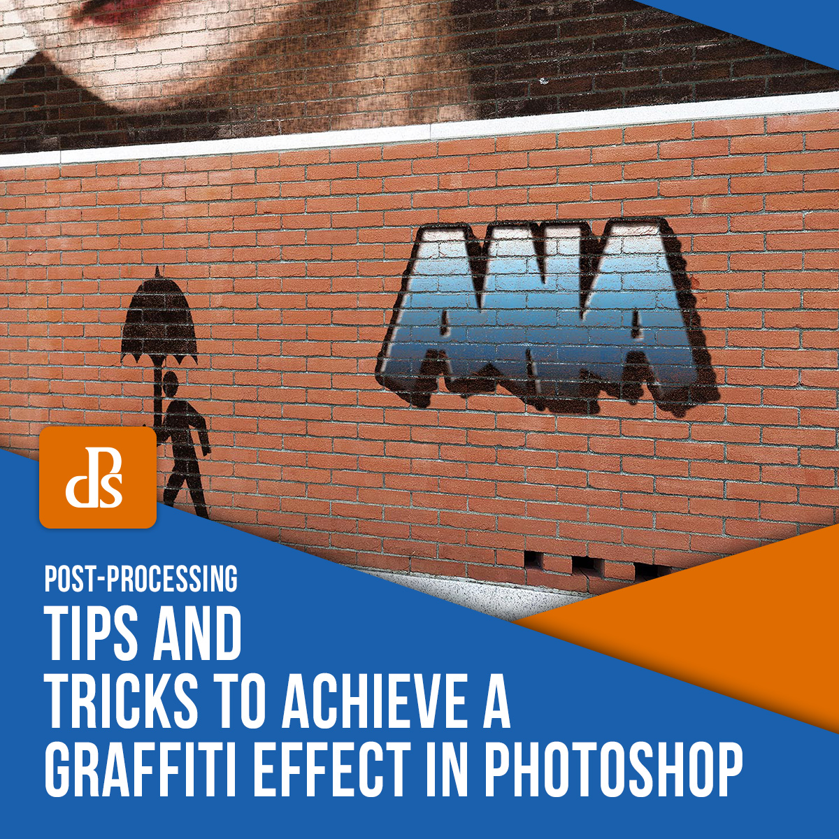 tips for creating a graffiti effect in Photoshop