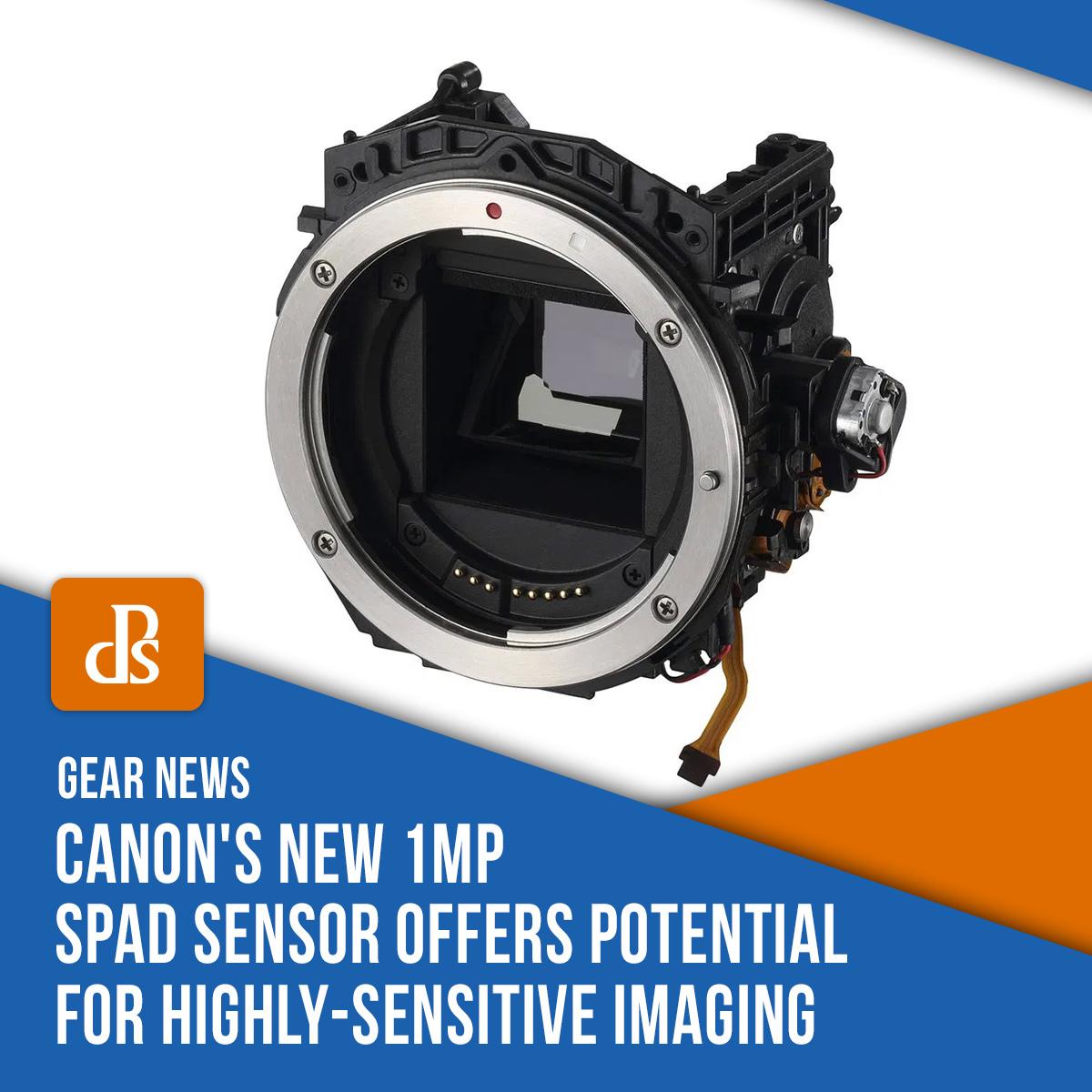 gear news - canon SPAD sensor