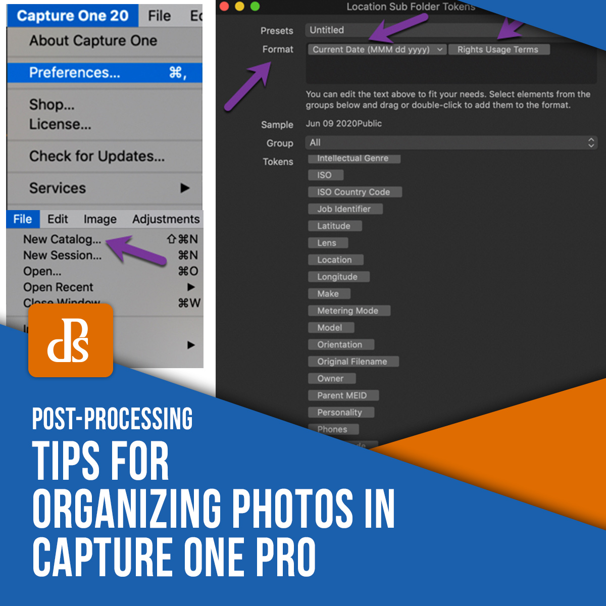 Tips for organizing photos in Capture One Pro