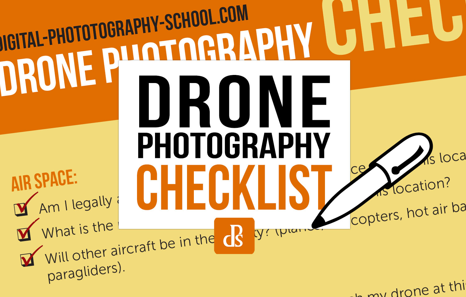 Drone Photography Preflight Checklist Feature Image