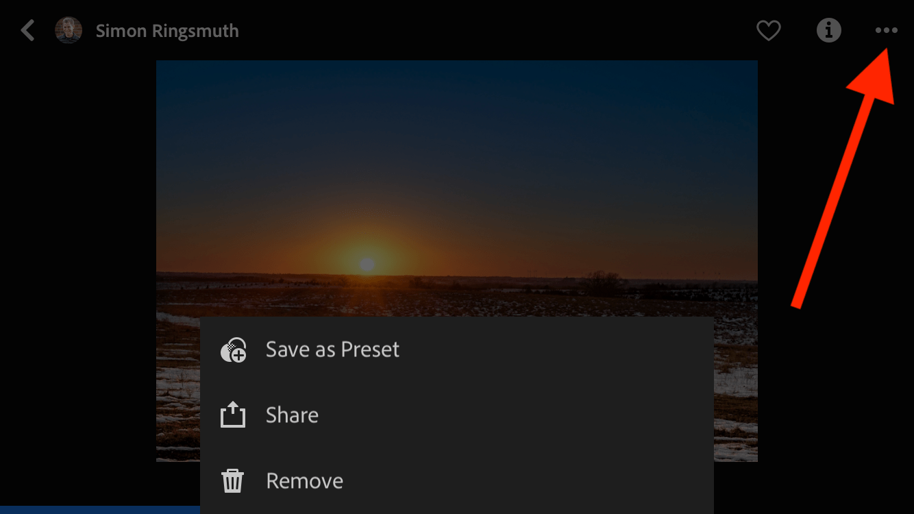 Lightroom Mobile Discover Feature
