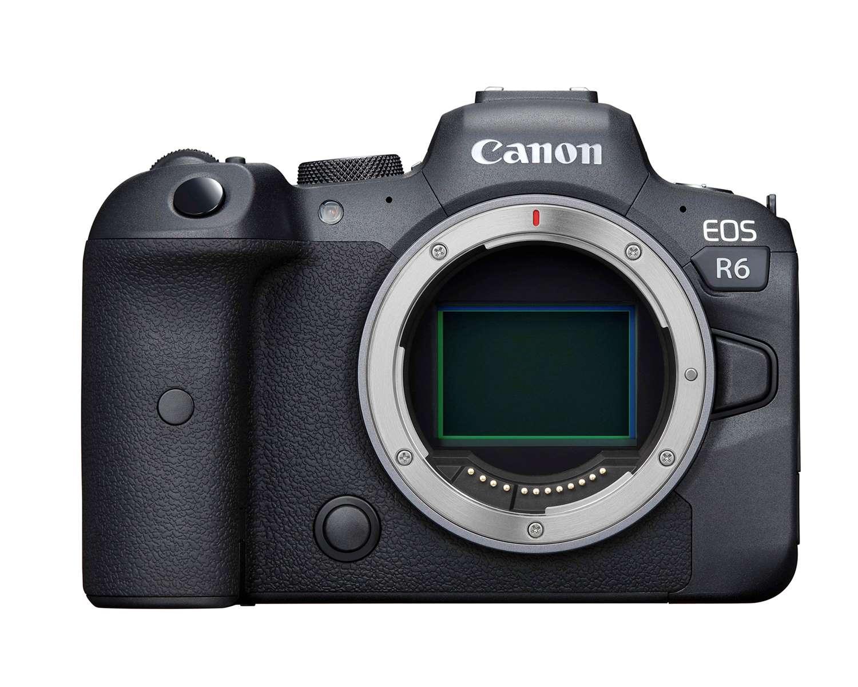 decline in camera sales Canon EOS R6