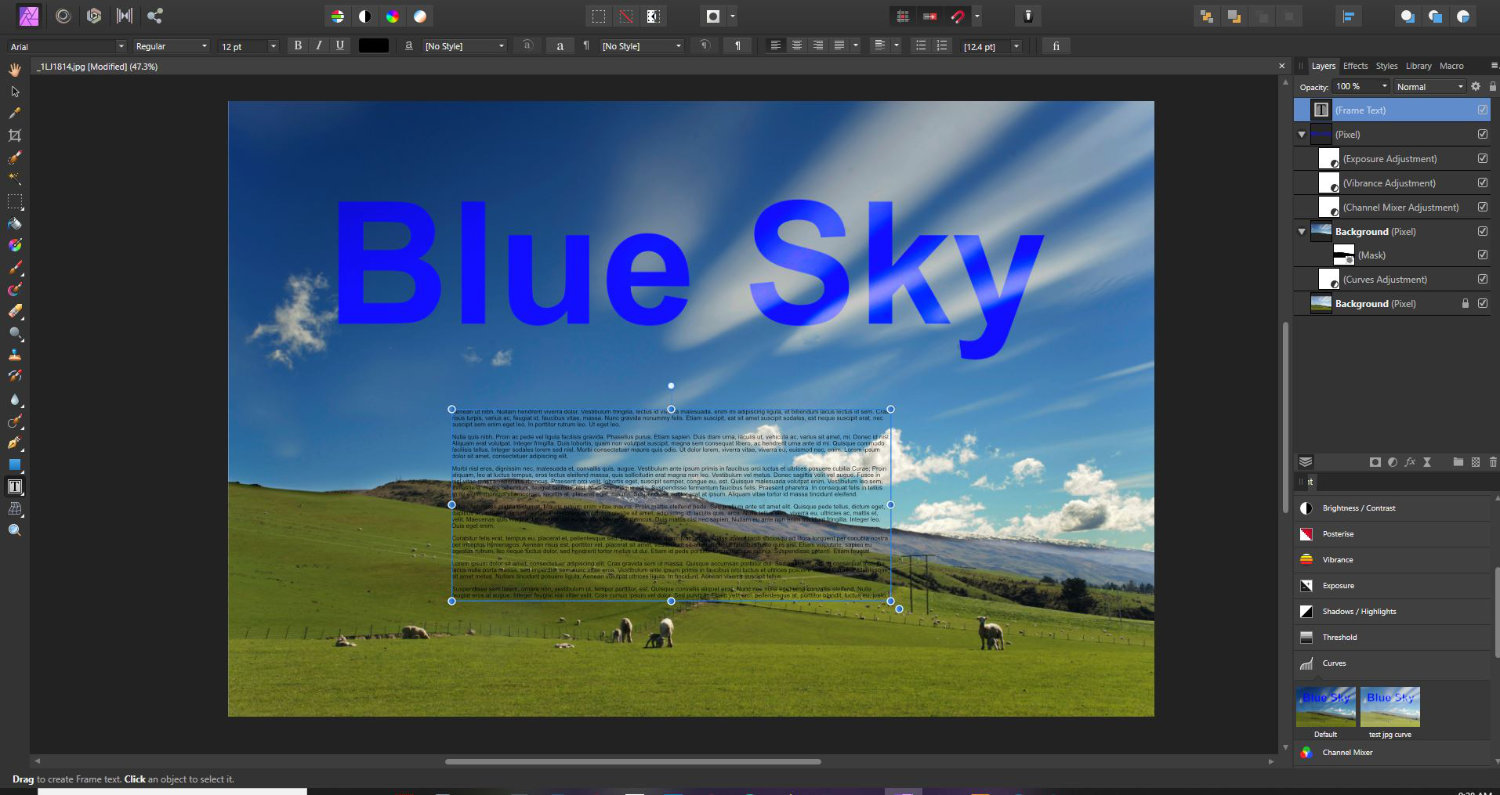 layers in affinity photo