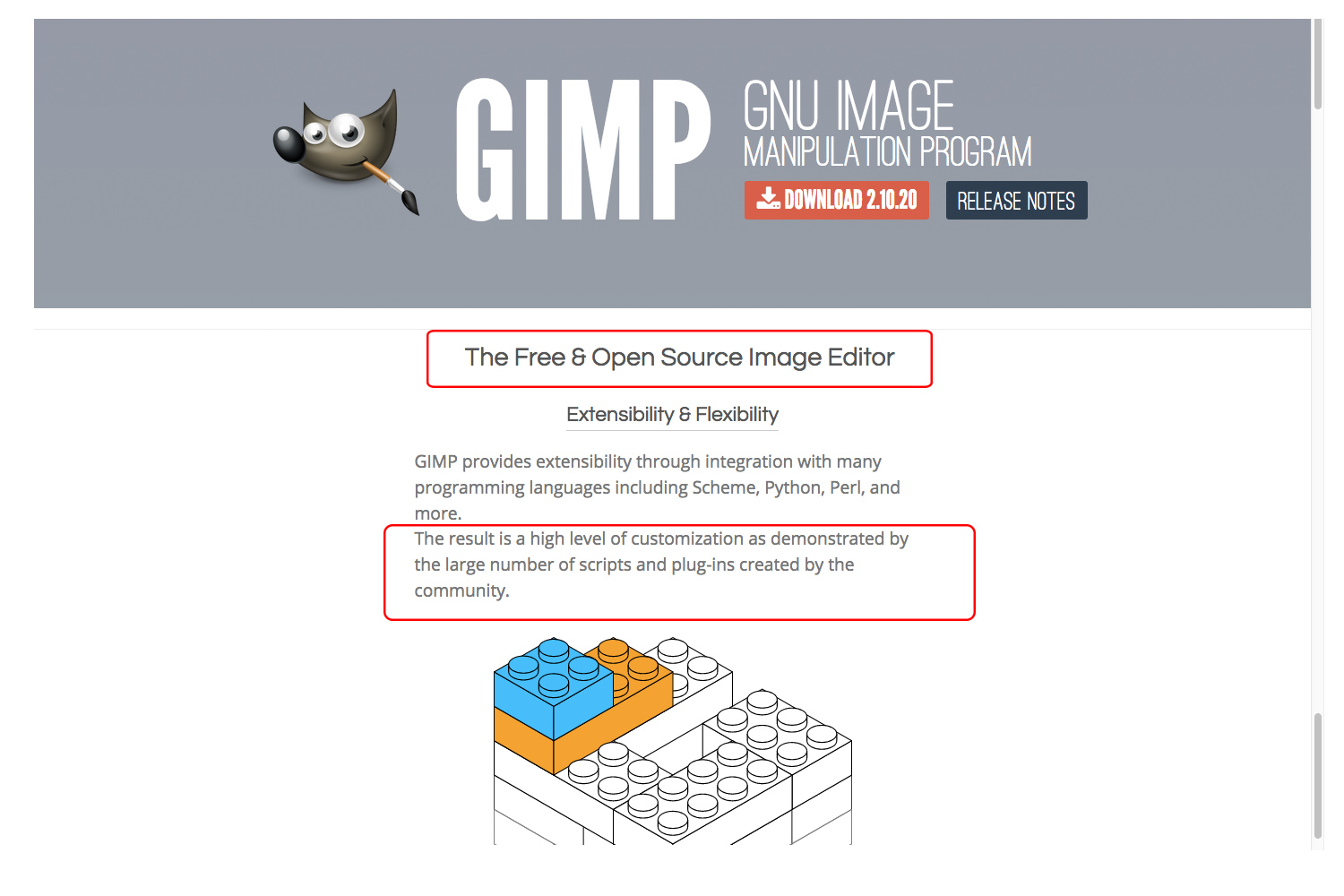 GIMP supports third party plugins