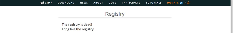 GIMP's plugins are no longer in registry installing GIMP plugins
