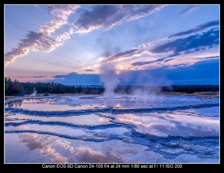 Dare to be different. Grand Fountain Geyer. Yellowstone National Park.