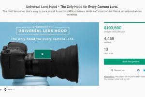 KUVRD Launches Lens Hood That Fits 99% of Lenses