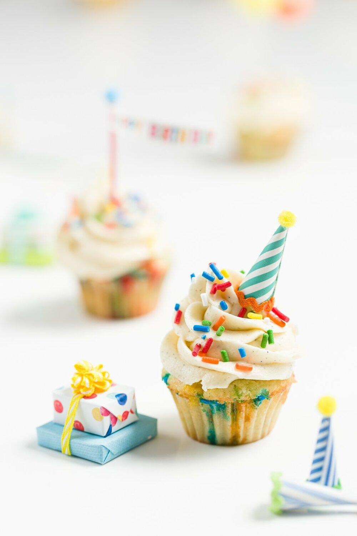 cupcakes técnicas de fotografia de comida