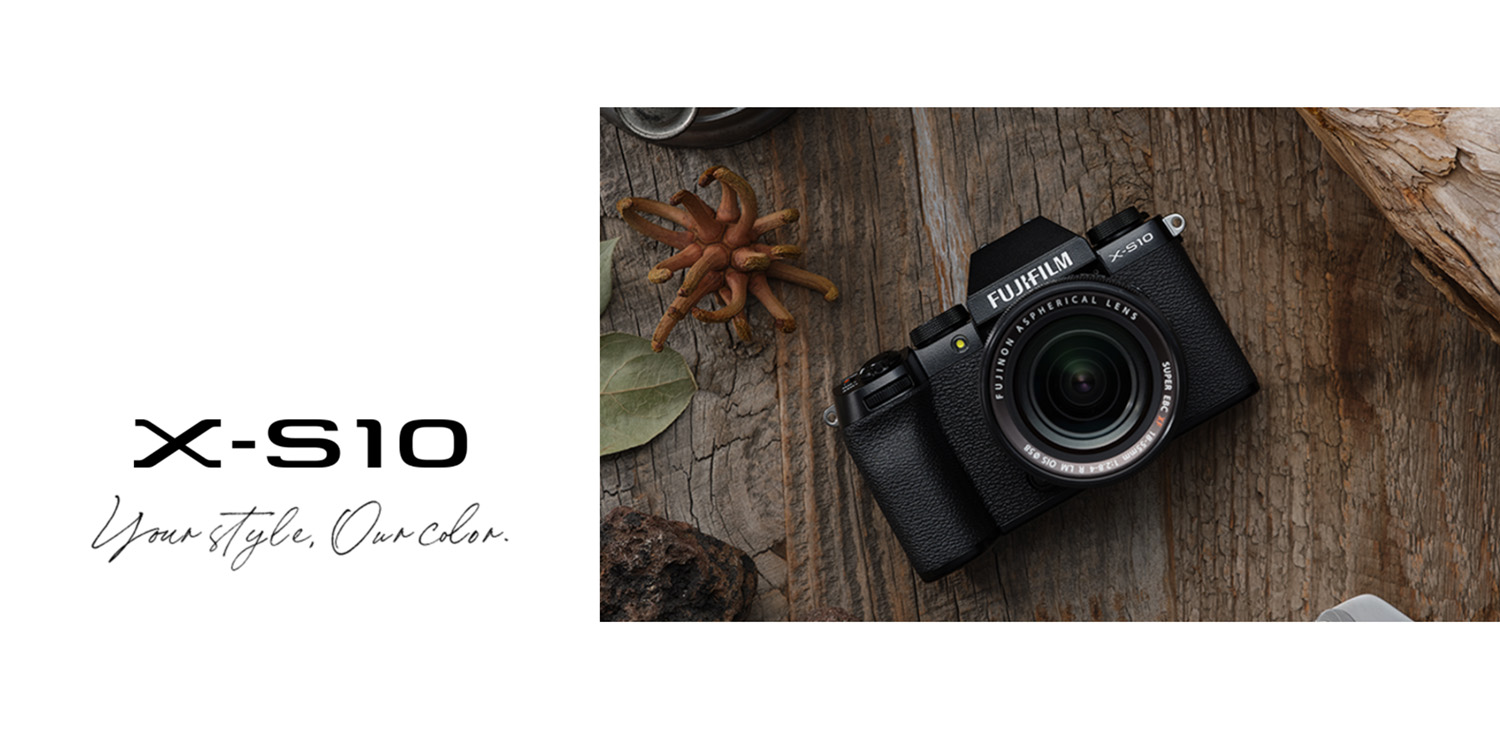 Fujifilm X-S10 announcement