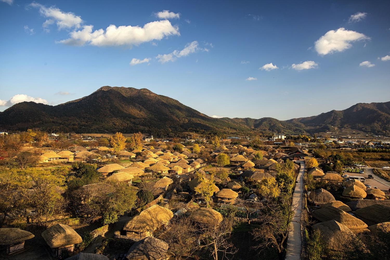 South Korean village