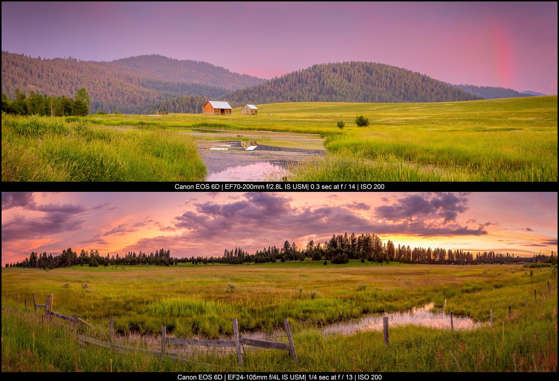 paisagens rurais montanhosas