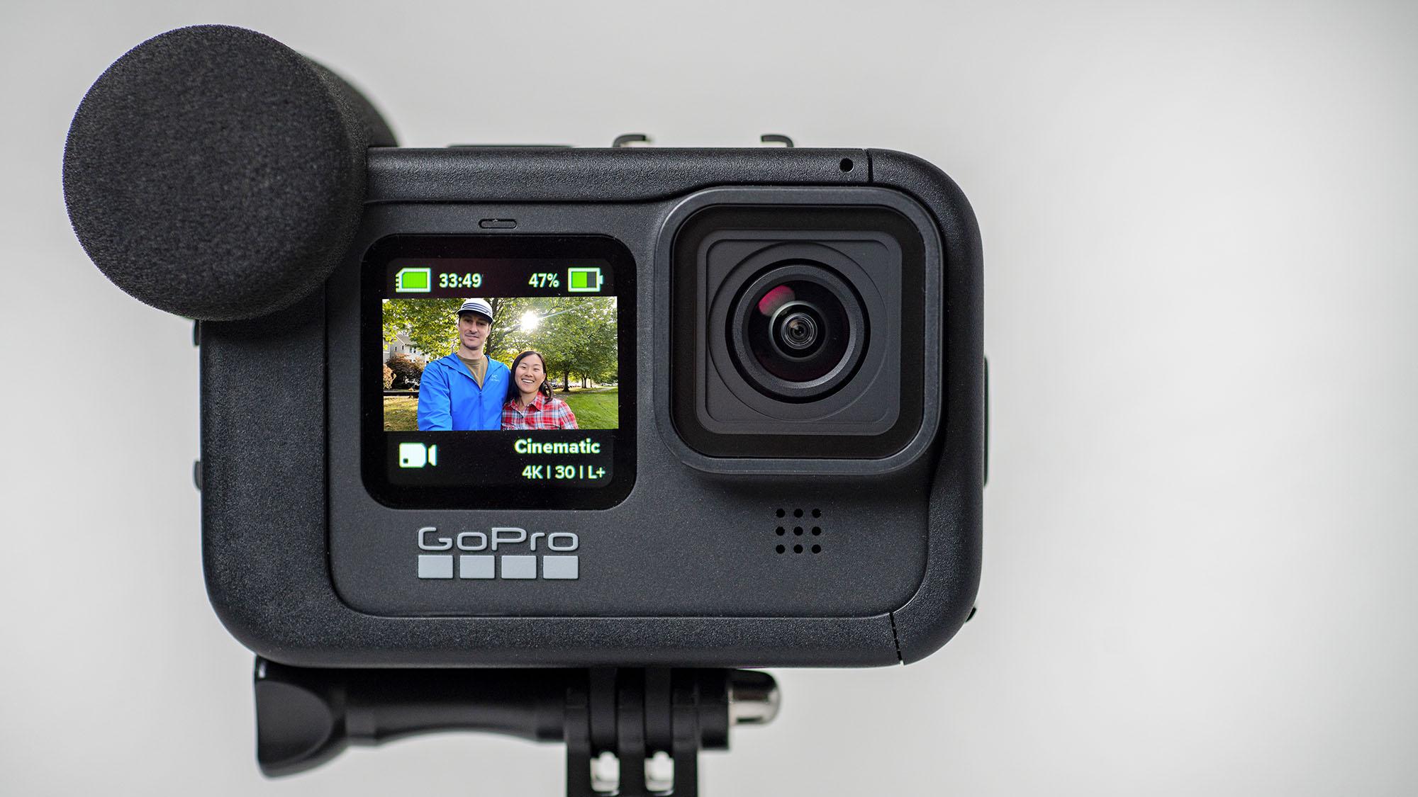 GoPro Hero 9 in the Media Mod