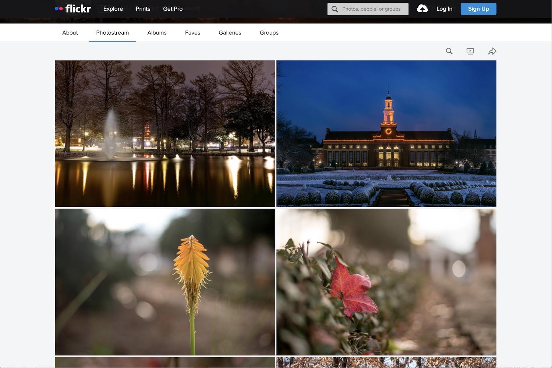 Best Online Photo Storage Flickr