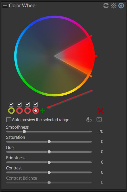 adding color wheels
