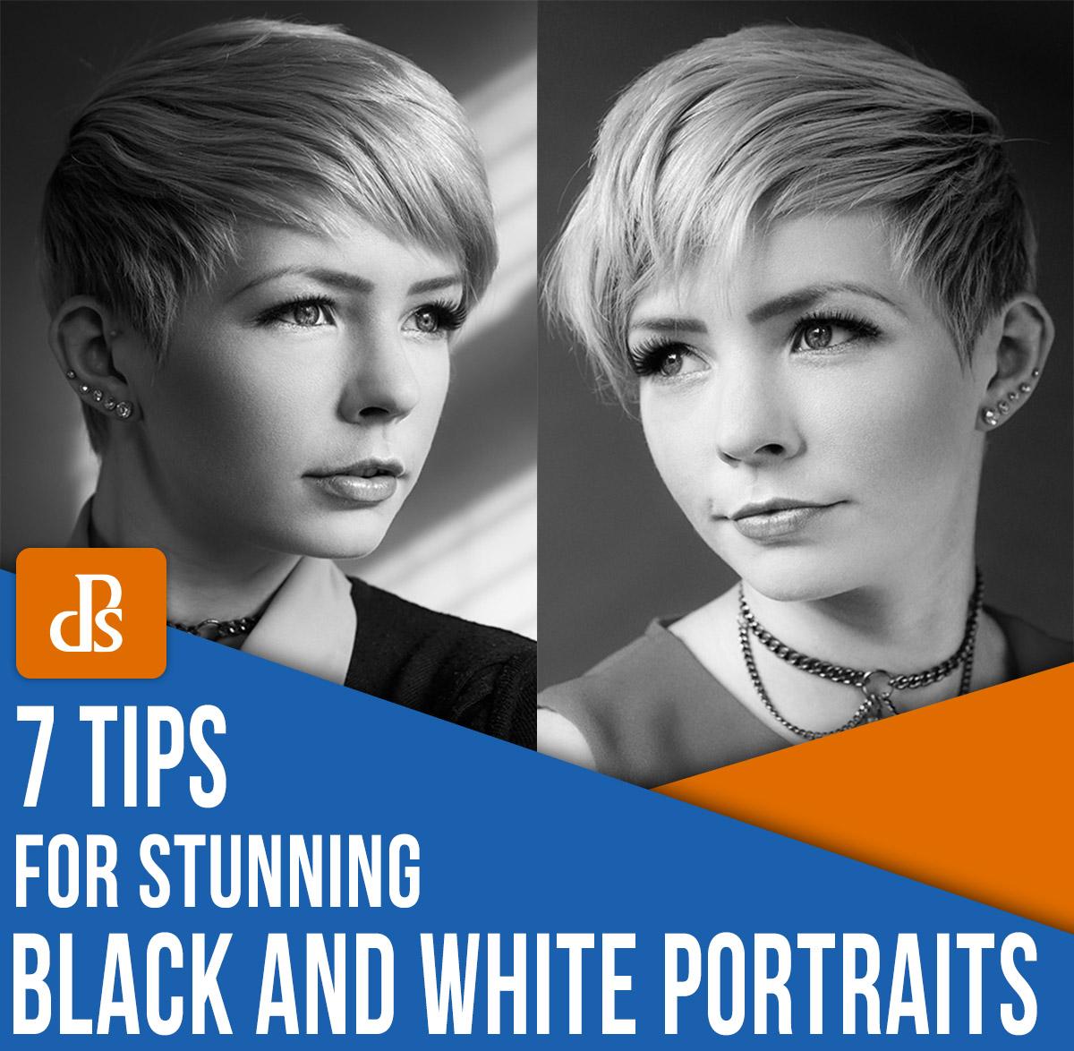 dicas para retratos em preto e branco