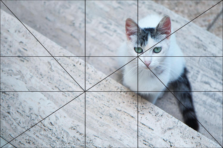 composição triangular em fotografia