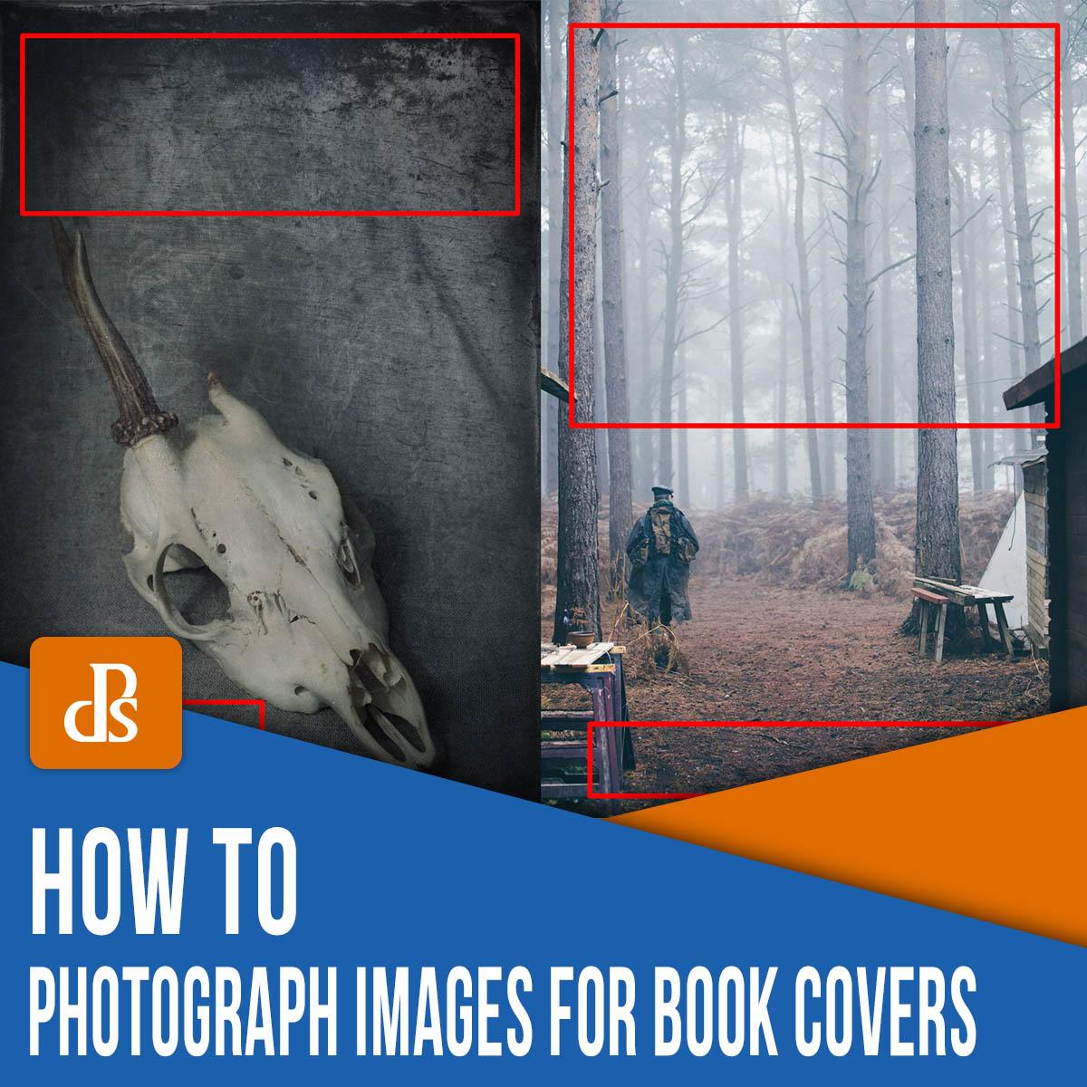 como tirar fotos para capas de livros