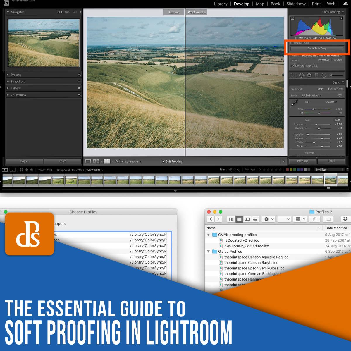 soft proofing in Lightroom