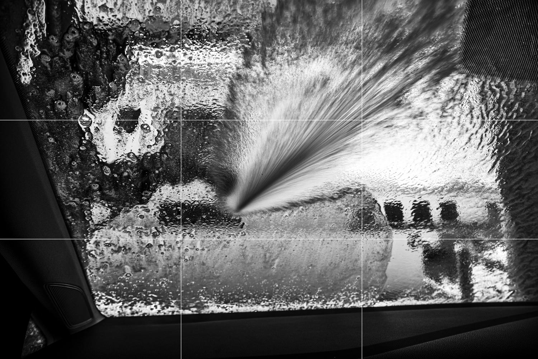 car wash window rule of thirds