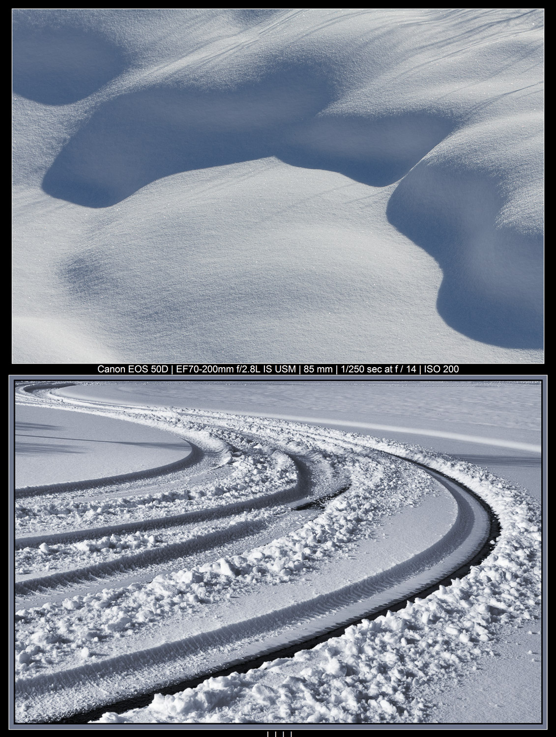 snowy abstracts