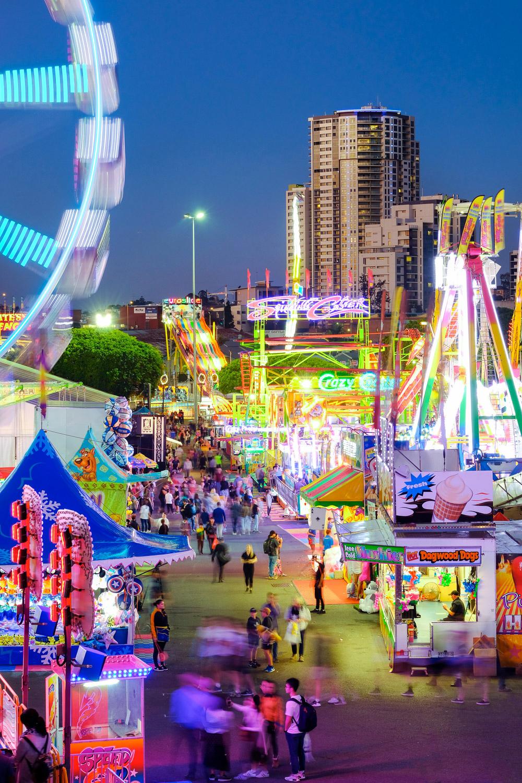fair in Brisbane long exposure