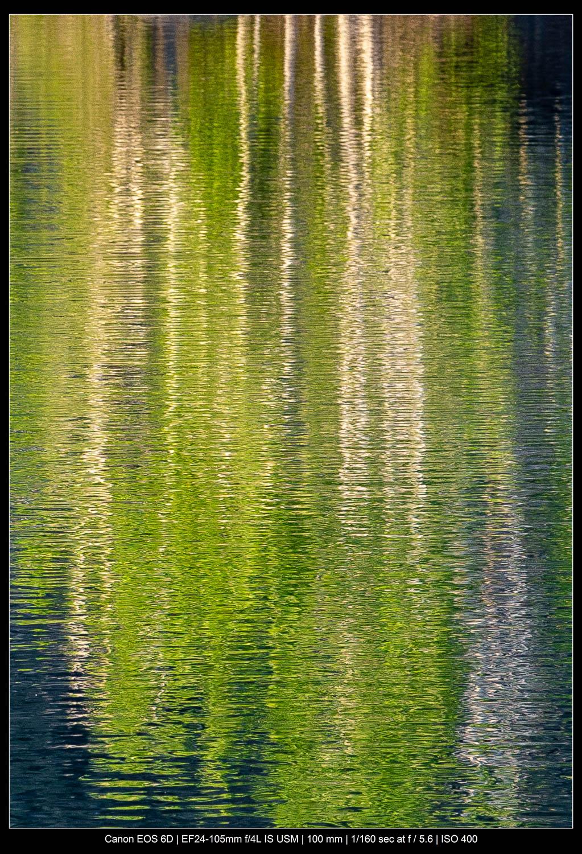 Fotografia de paisagens abstratas - aquarelas