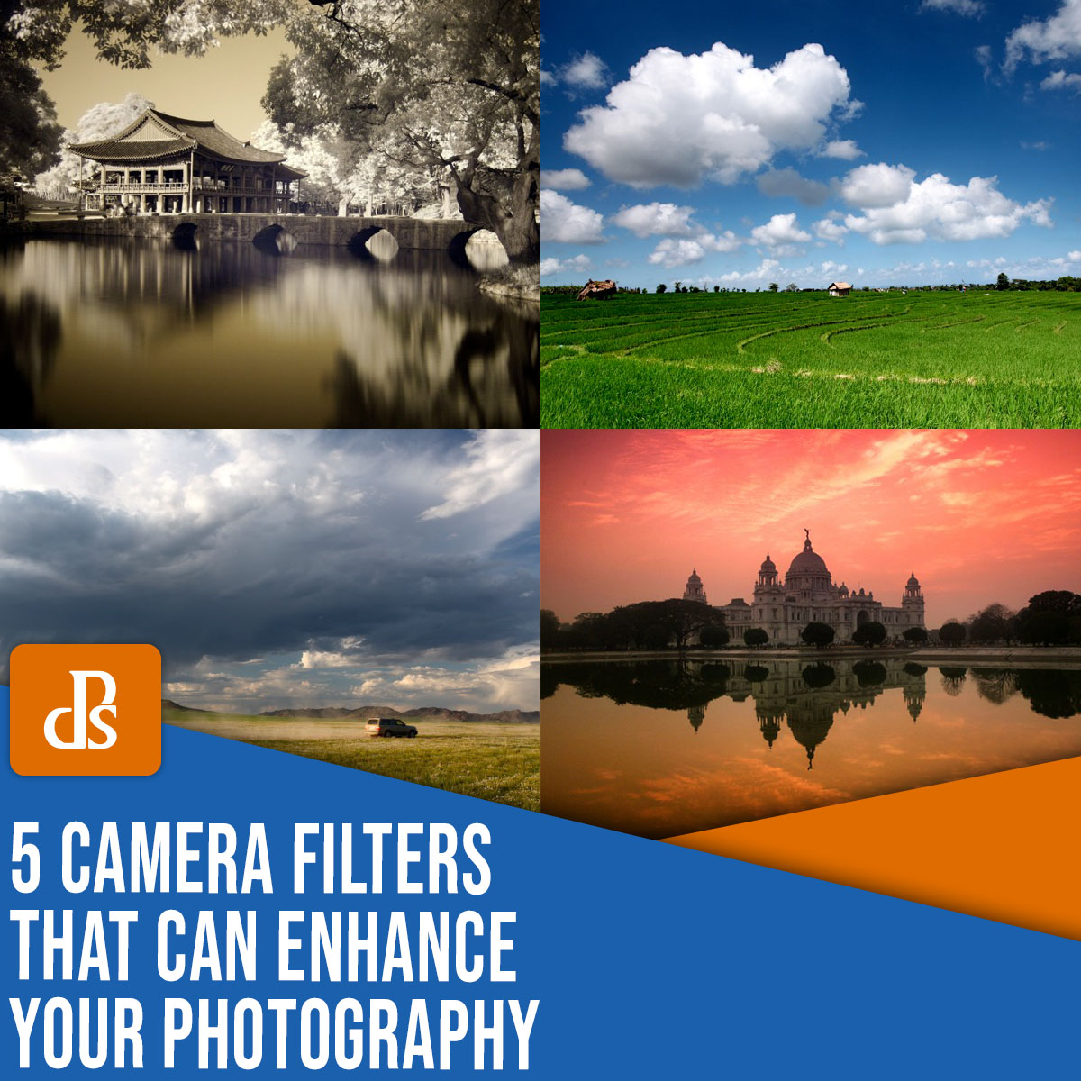 five camera filters that can enhance your photography