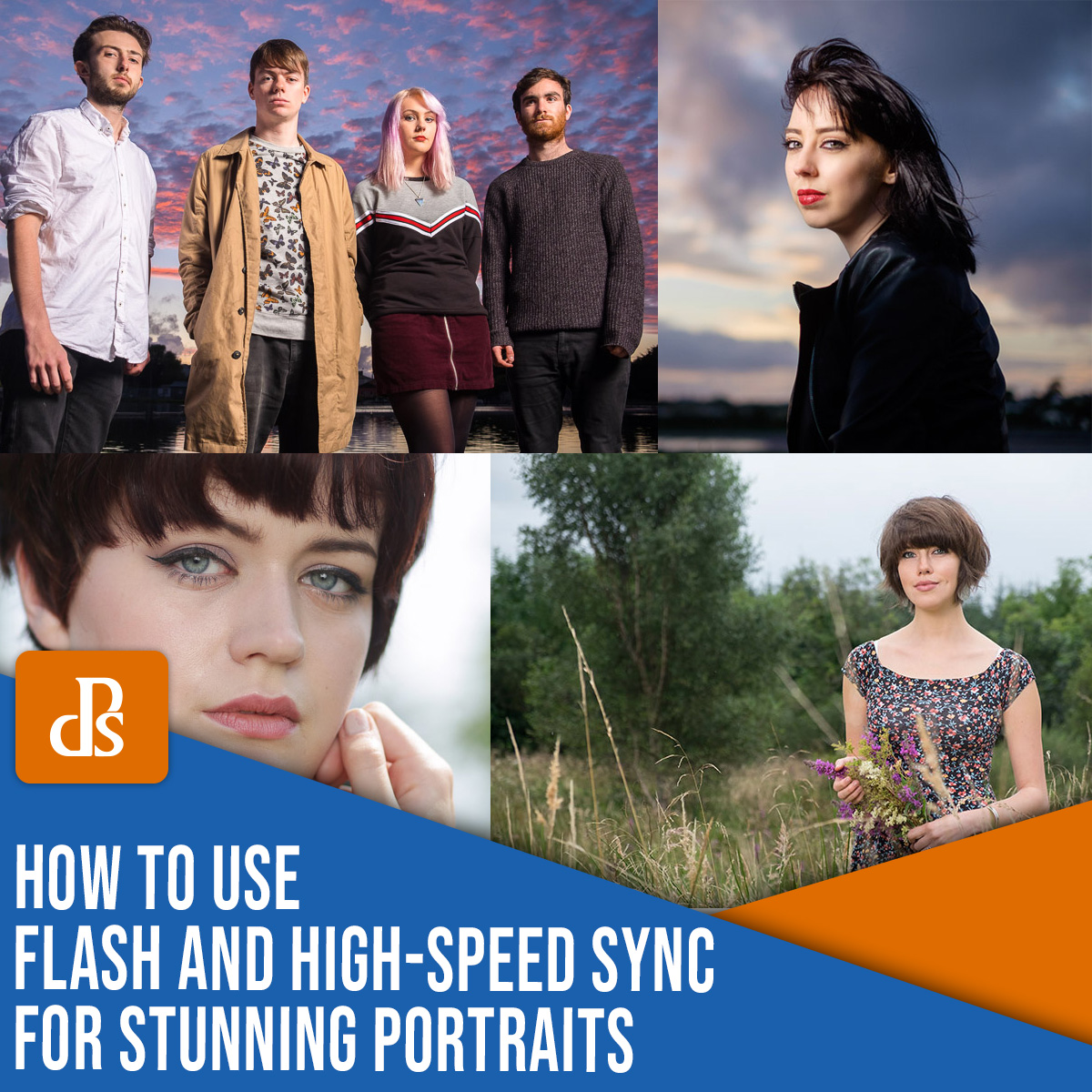 how to use flash and high-speed sync for stunning portraits