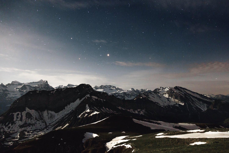 astrofotografia de montanha